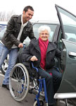 Driving services and transportation to appointments by caring companions.